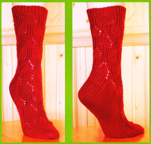 Knitting Machine Sock Pattern   Catalog of Patterns
