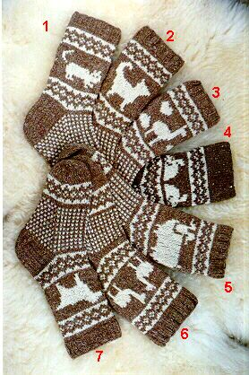 Knitting Pattern For Dog Socks : Pet Socks Pattern