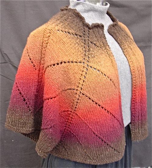 Santa Fe Shoulder Wrap Pattern
