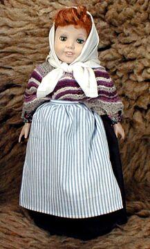Ethnic Doll Shawls Pattern