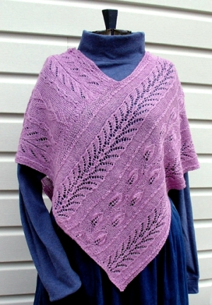 Natures Gifts Poncho Pattern